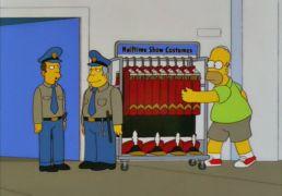 Γαϊδάρα στους Simpsons. (από Cunning Linguist, 24/10/13)