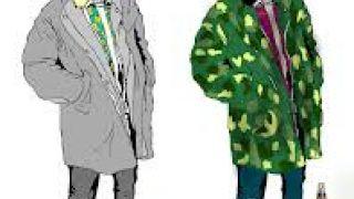 Ειδοποιός διαφορά του χίπστερ από τον άστεγο είναι το γούστο του για τους χρωματικούς συνδυασμούς. (από Khan, 19/11/13)