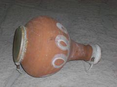 Τραμπούκα. Το γνήσιο δέσιμο ήταν με σπάγγο κι όχι μ\' αυτό το κυριλέ κορδονάκι της φωτό (από dryhammer, 08/06/14)