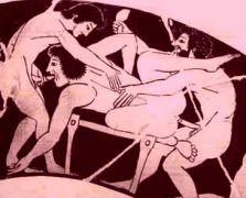 Όταν οι άλλοι τρώγανε βαλανίδια αντί για αμφίψωμον, εμείς οι Έλληνες είχαμε εφεύρει το αμφίψωλον. (από Khan, 17/07/14)
