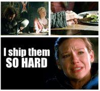 Jaime Lannister + Brienne of Tarth=  I ship them SO HARD. (από Khan, 08/10/14)