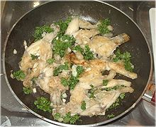 Cuisses de grenouille à la provençale (από Khan, 04/11/14)