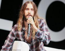 Jared Leto: Λαμπερσέξουαλ τύπου Τζήζας. (από Khan, 10/12/14)
