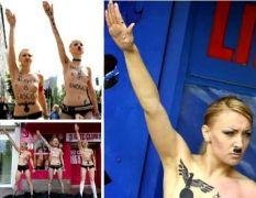 Η ναζιάρικη και bdsm εκδοχή των Femen ακτιβιστριών.  (από Khan, 22/02/15)