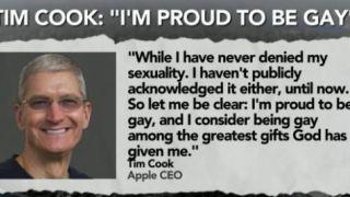 Tim Cook τση Apple, ευχαριστεί τον Γιαραμπή που τον έκανε γκέουλα (από σφυρίζων, 27/02/15)