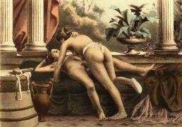 Πίνακας του Edouard-Henri Avril που απεικονίζει στραπονιάσματα του 19ου αιώνα. (από Khan, 03/04/15)