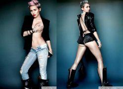 Miley Cyrus, αγαπημένη των τρασόκαυλων