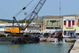 μπίγα --ξεσκατίζει-- εκβαθύνει το λιμάνι της Χίου