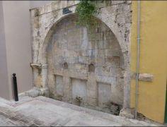 Απομεινάρια Τουρκικού λουτρού στο Νάυπλιο