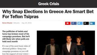 TIME: Teflon Tsipras
