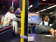 Hipster Jesus & Hipster Hitler