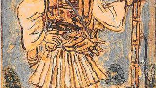 Ο λήσταρχος Χρήστος Νάτσιος- Νταβέλης, έργο του λαϊκού ζωγράφου Θεόφιλου