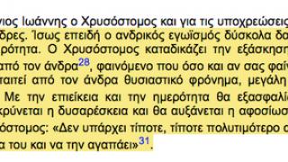 Ο Αγιος Ιωάννης ο Χρυσόστομος που ξαφνικά κάποια άσχετα blogs τους τη βάρεσε να τον παρουσιάσουν ως μισογύνη