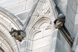 Darth Vader Gargoyle--National Metropolitan Cathedral of St. Peter and St. Paul (Episcopal Church of the United States), Washington D.C.