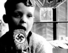 Nαζίδιον enjoying a Nazi pop