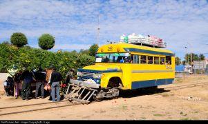 Ρέιλμπας Dodge στη Ν.Αμερική, στη προηγούμενη ζωή του ήταν... μπας(schoolbus)!