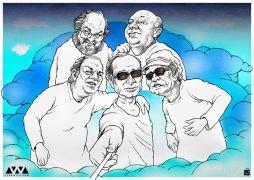 σελφιά απ' τον παράδεισο. #AbbasKiaRostami #RIP